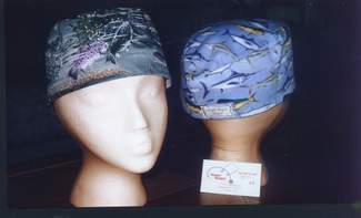For doctor's, nurses, surgeons, ER, critical care, oncology, pediatrics, home care, hospice, labor and delivery, school nurse, psyche, LPN, NP, RN, CNA. Hoggin Boggan offers specialty nurse headwear for work or play. Order our hand designed headwear for yourself and as gifts online, securely
